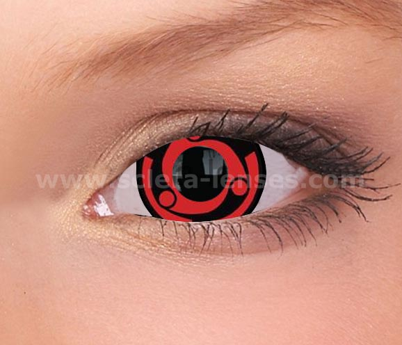 Naruto Madara Mini Sclera Contact Lenses (1 pair)