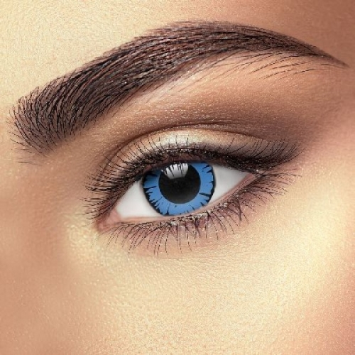 Big Eye Dolly Eye Blue Contact Lenses (1 pair)