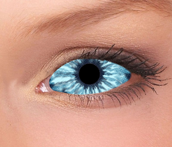 Elf Blue Sclera Contact Lenses (1 pair)