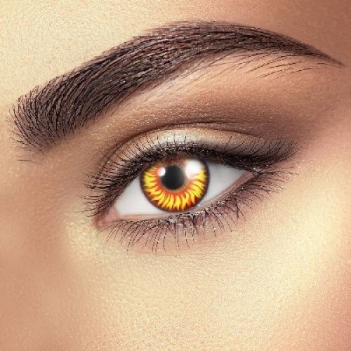 Wolf Eye Contact Lenses (1 pair)