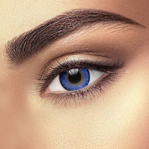 Blue 3 Tones Contact Lenses (1 pair)